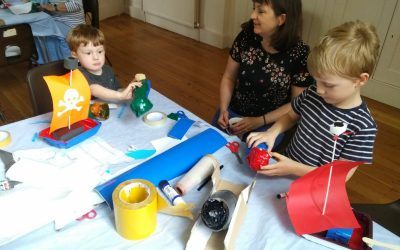 Our 1st Crafting Workshop In Wilton